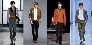 Приклади одягу для чоловічої фігури типу «прямокутник» Блейзери та куртки з  чітким силуетом і невеликими підплічниками 46109362f8e51