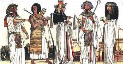 Традиційний одяг стародавніх єгиптян Єгиптяни — основоположники стилю  унісекс 17ddfc20cc09e