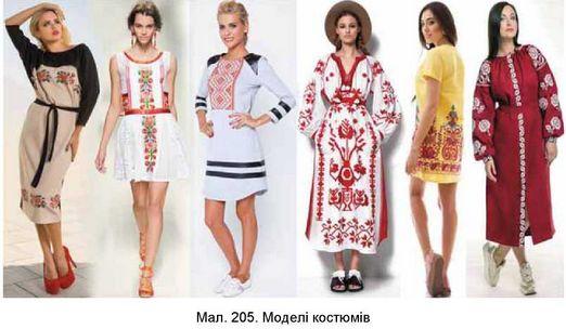 Здійсніть трансформацію творчого джерела з народного традиційного костюма в  сучасний костюм у стилі етно за зразком. 9f05402c9e6c0